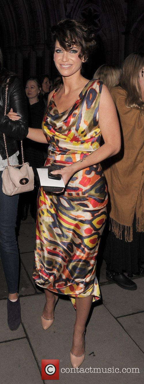 Sarah Harding, Vivienne Westwood, London Fashion Week