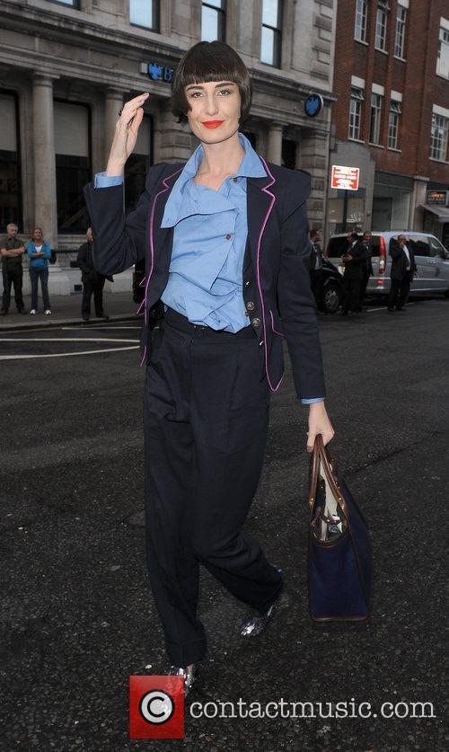 Erin O' Connor London Fashion Week Spring/Summer 2012...