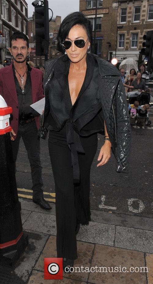 Nancy Dell'Olio London Fashion Week Spring/Summer 2012 -Vivienne...