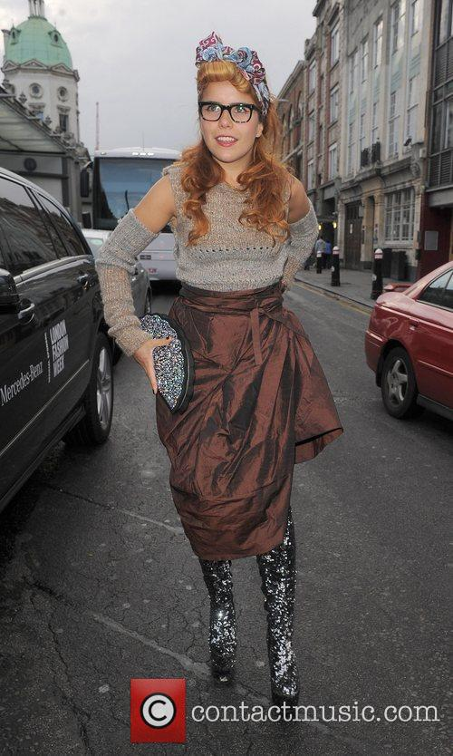 Paloma Faith and London Fashion Week 7