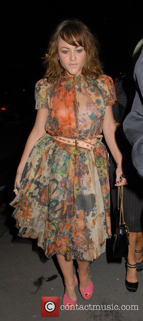 Jaime Winstone, Vivienne Westwood, London Fashion Week