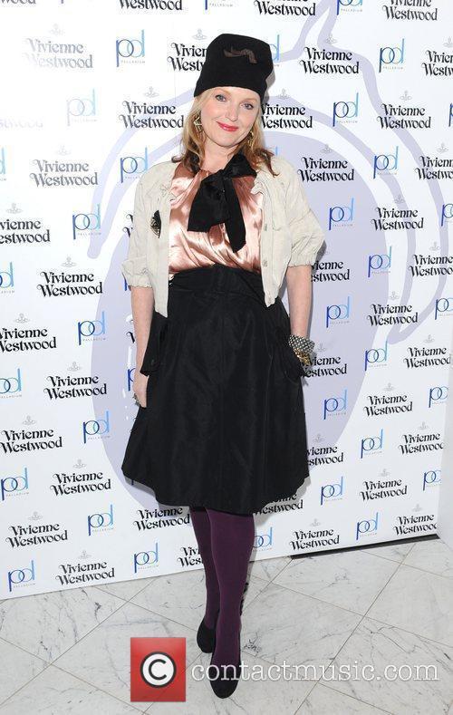 Miranda Richardson London Fashion Week A/W 2011 -...