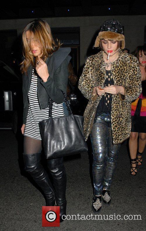 Melanie Blatt and Lois Winstone London Fashion Week...