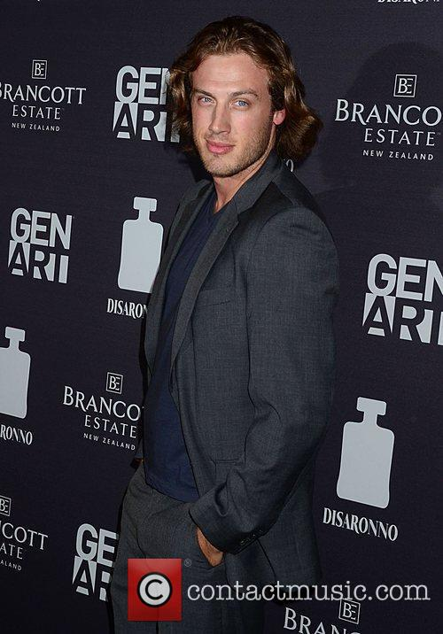 Peter Vack attending a screening of 'Life Happens'...
