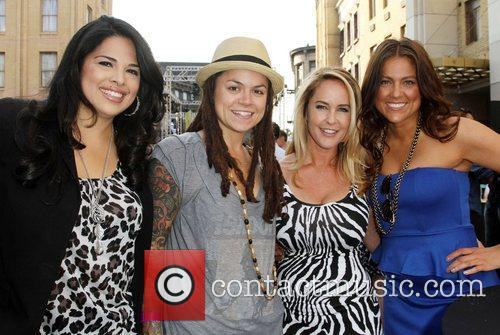Rose Garcia, Whitney Mixter, Erin Murphy and Raquel...