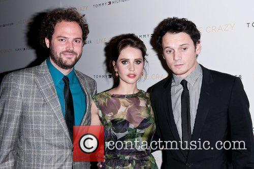 Anton Yelchin and Felicity Jones 5