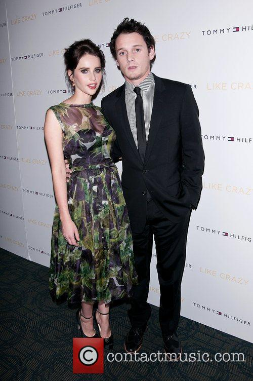 Felicity Jones and Anton Yelchin 5
