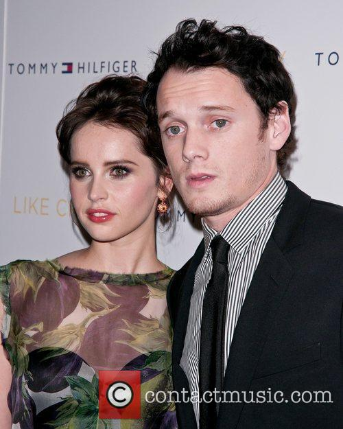 Felicity Jones and Anton Yelchin 10