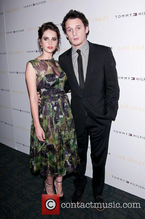 Felicity Jones and Anton Yelchin 2