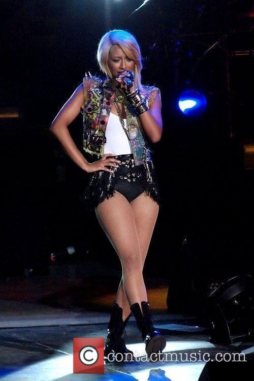 Keri Hilson performs on stage during the 'I...