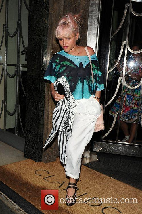 Jaime Winstone  Celebrities on a night out...