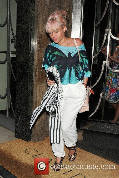 Celebrities on a night out for Lily Allen's...