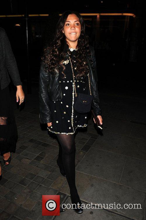 Miquita Oliver  Celebrities on a night out...