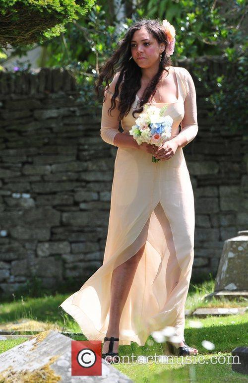 Bridesmaid Miquita Oliver The wedding of Lily Allen...