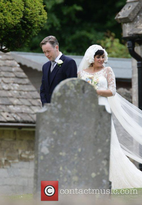 Sam Cooper and Lily Allen emerge as husband...