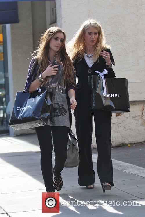 Lily Collins and Jill Tavelman 3