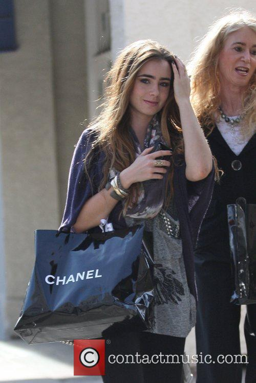 Lily Collins and Jill Tavelman 1