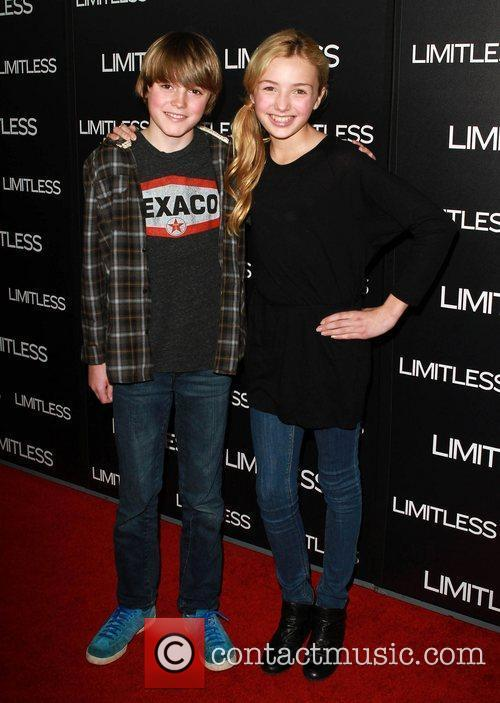 Spencer and Peyton List Special Screening of Limitless...