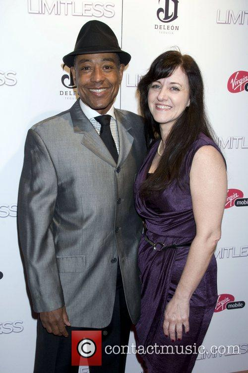 Giancarlo Esposito and guest The New York premiere...