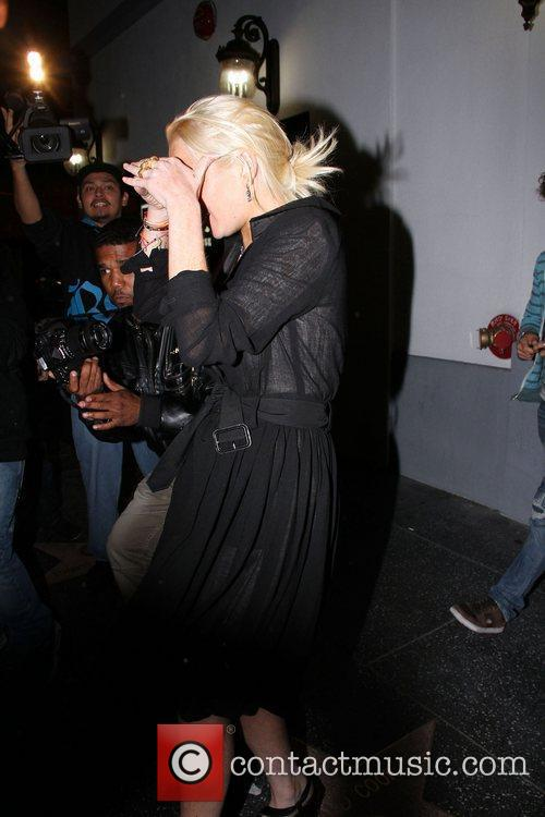 Lindsay Lohan leaving the Lexington club Los Angeles,...