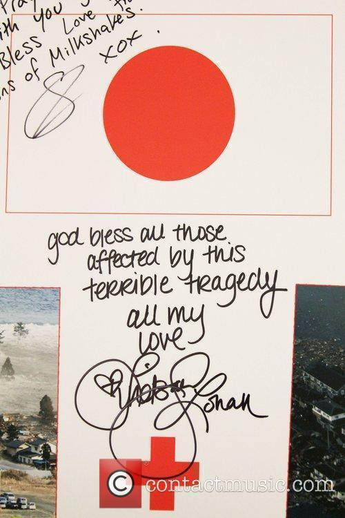 A poster signed by Lindsay Lohan is to...