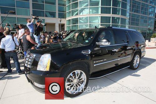 Lindsay Lohan departs the Los Angeles County Superior...