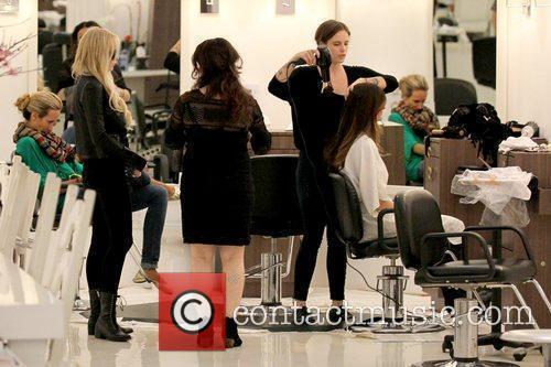 Lindsay Lohan and Ali Lohan 4