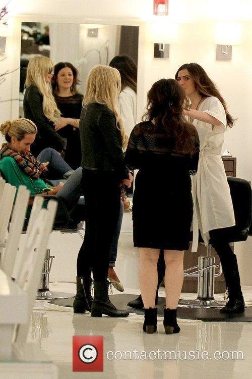 Lindsay Lohan and Ali Lohan 1