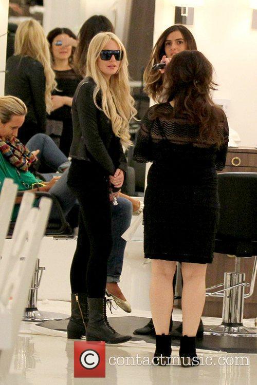 Lindsay Lohan and Ali Lohan 9
