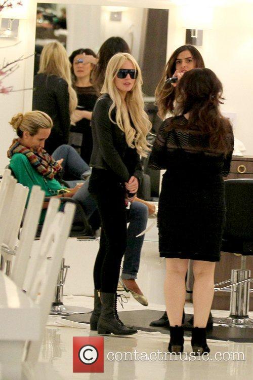 Lindsay Lohan and Ali Lohan 7