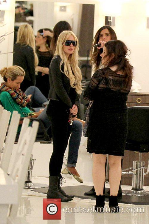 Lindsay Lohan and Ali Lohan 5