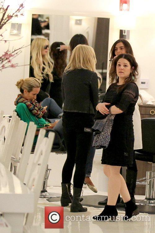 Lindsay Lohan and Ali Lohan 2