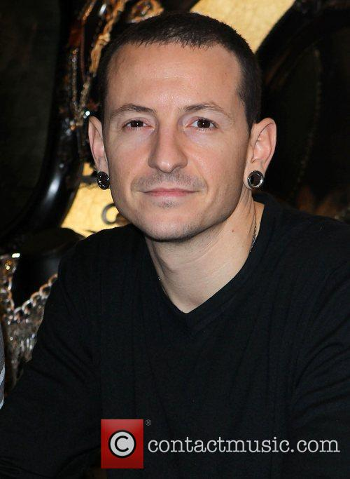 Chester Bennington Club Tattoo Inside Miracle Mile Shops...