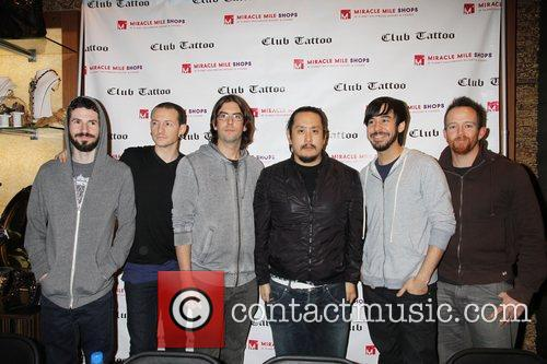 Linkin Park, Las Vegas, Tattoo, Planet Hollywood