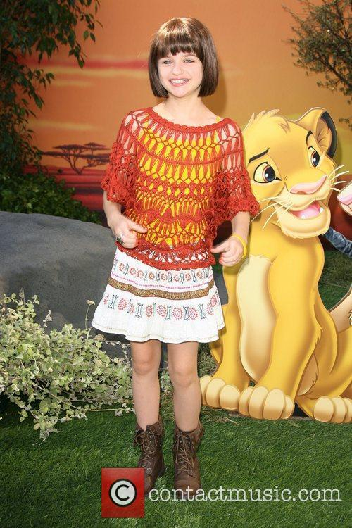 Joey King World Premiere of Disney's The Lion...