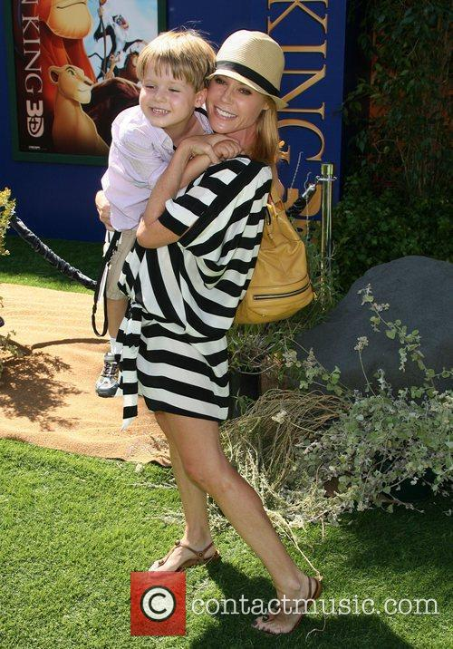 Julie Bowen with son Oliver McLanahan Phillips World...