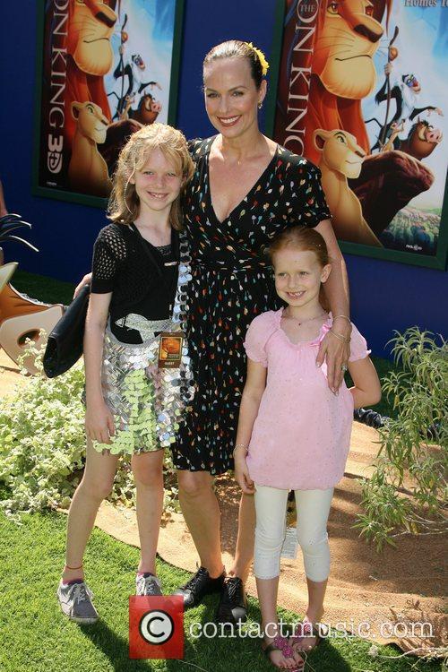 Melora Hardin World Premiere of Disney's The Lion...