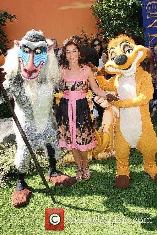 Moira Kelly World Premiere of Disney's The Lion...