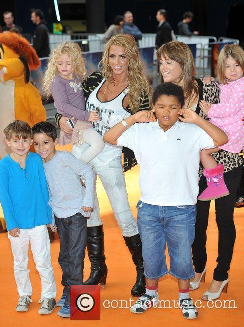 Katie Price and her children The Lion King...
