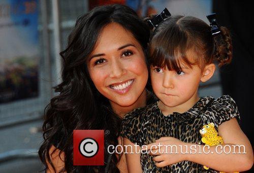 Myleene Klass with her daughter Ava  The...