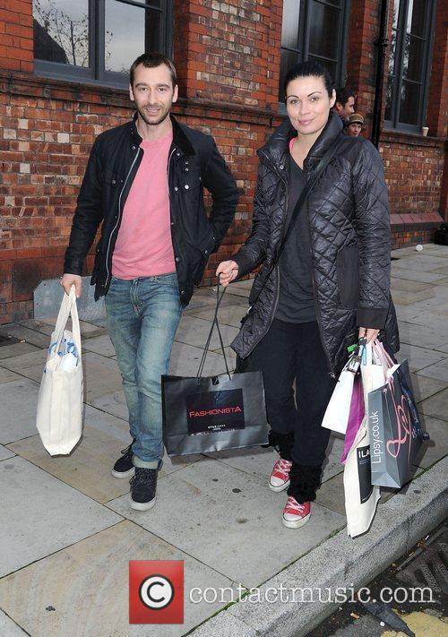 Charlie Condou and Alison King leaves the Lipsy...