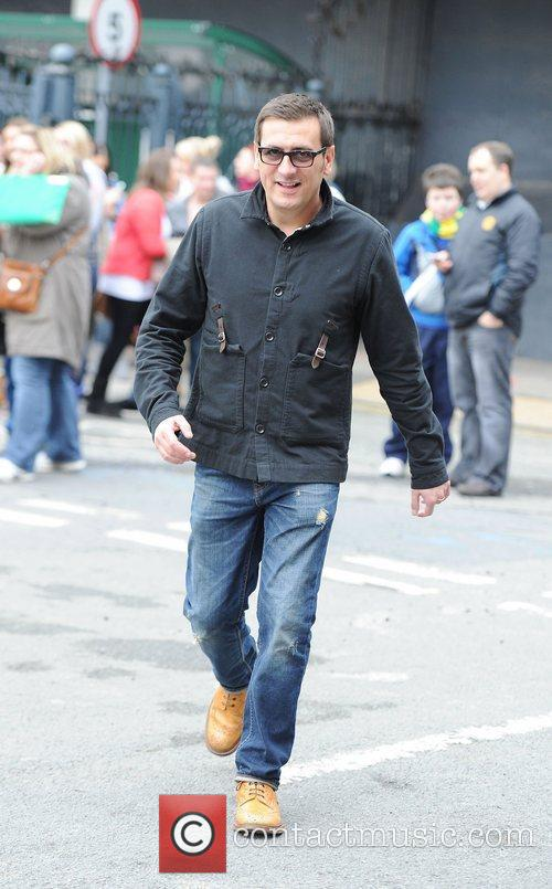 Chris Gascoyne arrives for a Lipsy gifting event...