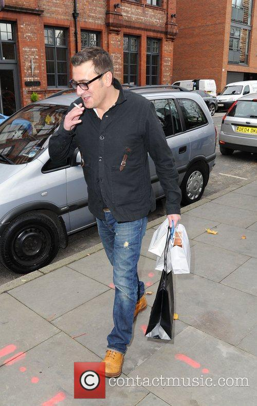Chris Gascoyne leaves the Lipsy gifting event at...