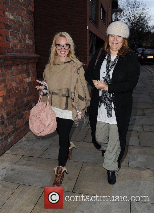 Georgi Porter and Nicole Barber Lane arrive for...