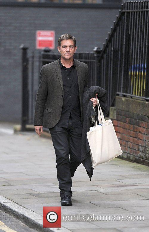John Michie arrives for a Lipsy gifting event...