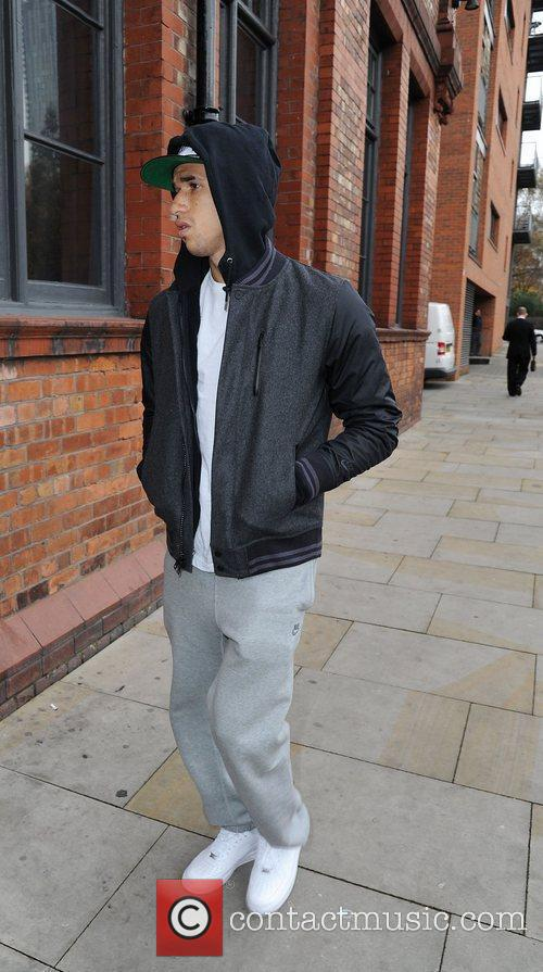 Obertan arrives for a Lipsy gifting event at...