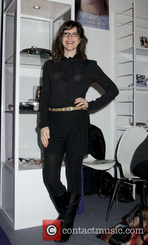 Lisa Loeb makes an appearance for 'Classique Eyewear'...