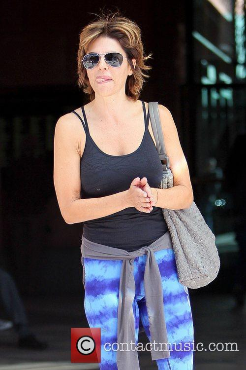 A casually dressed Lisa Rinna out and about...