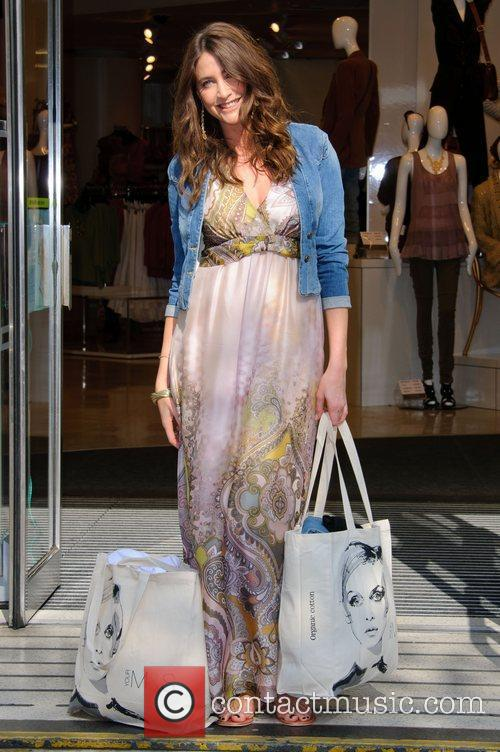 Lisa Snowdon  launches the M&S campaign encouraging...