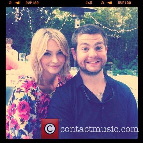 Jack Osbourne's fiancee, Lisa Stelly, tweeted this image...